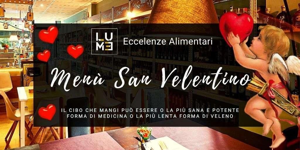 menu san valentino 2021