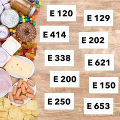 Uso colorante E171 in alimenti