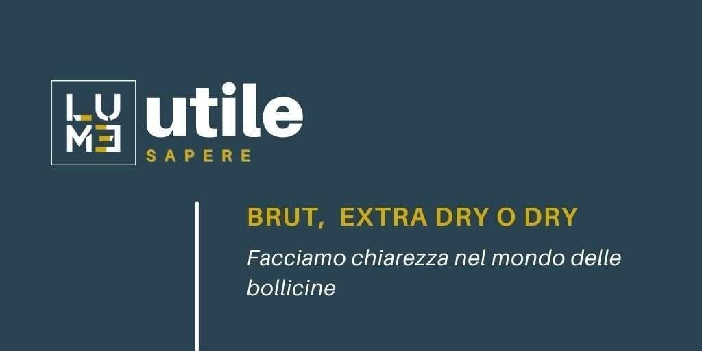 Brut Extra dry o Dry