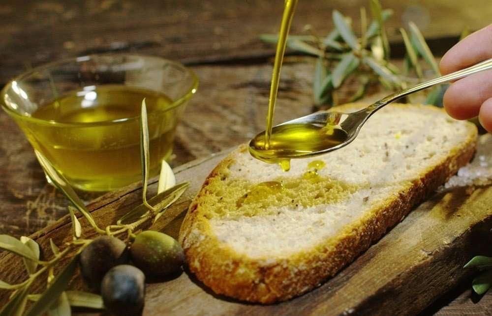 Olio di oliva di mais o soia